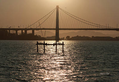 Photograph - Oakland Bay Bridge II by Suzanne Gaff