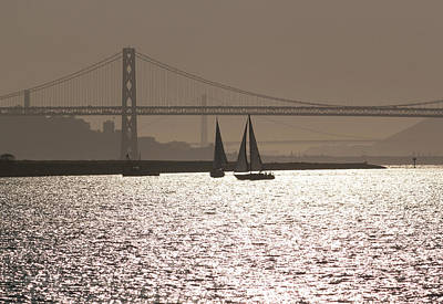Photograph - Oakland Bay Bridge IIi by Suzanne Gaff