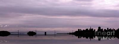 Photograph - Oakland Bay Bridge San Francisco by Lynn Bolt