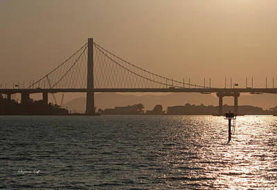 Photograph - Oakland Bay Bridge by Suzanne Gaff