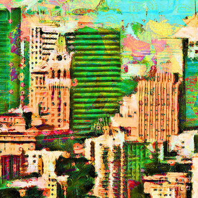 Photograph - Oakland California 20180515 Square by Wingsdomain Art and Photography