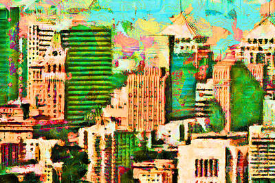 Photograph - Oakland California 20180515 V2b by Wingsdomain Art and Photography