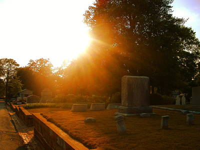 Photograph - Oakland Cemetery In Atlanta by Utopia Concepts