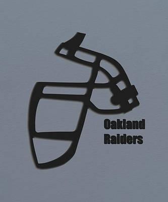 Oakland Raiders Retro Art Print