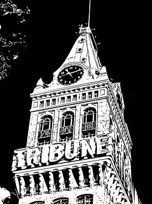 Photograph - Oakland Tribune by Bill Owen