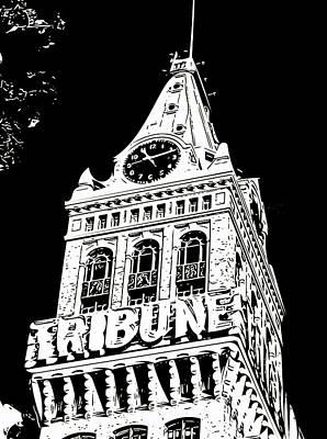 Photograph - Oakland Tribune by Bill Owen