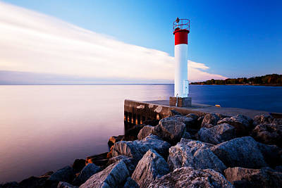 Oakville Lighthouse Print by Alapati Gallery