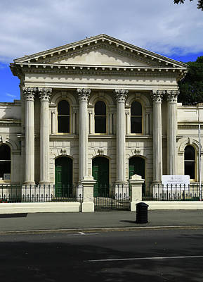 Photograph - Oamaru District Court by Nareeta Martin