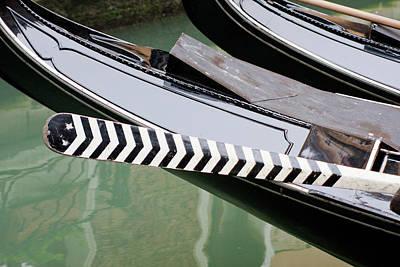 Oar Gondola Venice Art Print