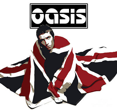 Famous Artist Digital Art - Oasis No.01 by Caio Caldas