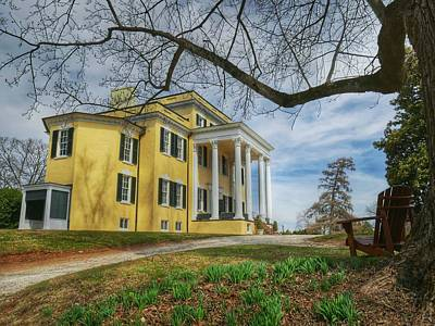 Photograph - Oatlands Historic Home by Ryan Shapiro