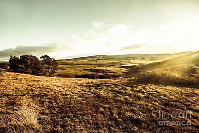 Oatlands Rolling Hills Print by Jorgo Photography - Wall Art Gallery
