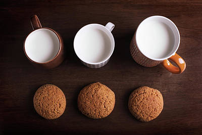 Oatmeal Photograph - Oatmeal Cookies by Vadim Goodwill