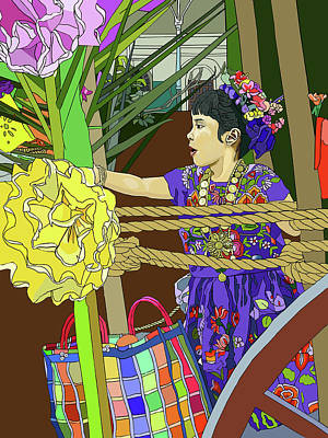 Painting - Oaxaca Parade by Jamie Downs