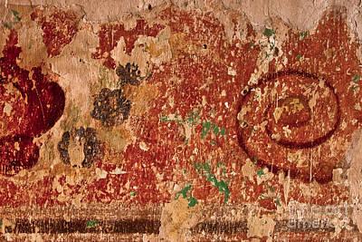 Oaxacan Fresco II Original by Jon Cretarolo