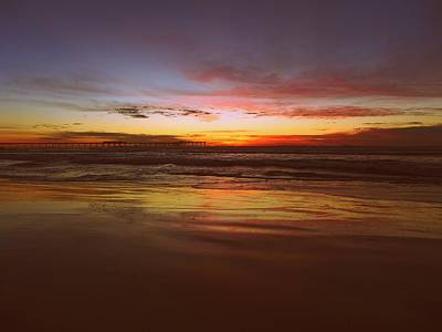 Photograph - Ob Sunset by Keith McGill