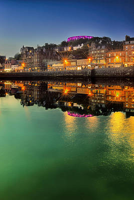 Photograph - Oban By Night by Jean-Noel Nicolas