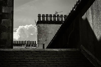Photograph - Oban Chimney Pots by Bud Simpson