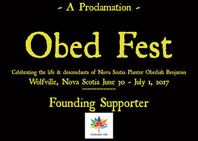 Obed Photograph - Obed Fest Founding Supporter by Craig David Morrison