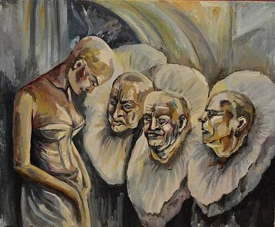 Condemnation Painting - Obedience by Ann Bakina