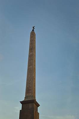 Obelisk Of Domitian Art Print by JAMART Photography