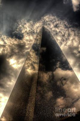 Photograph - Obelisk Prague by Joerg Lingnau