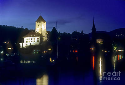Lale Photograph - Oberhofen Castle by Bob Phillips