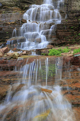Photograph - Oberlin Falls View by Jack Bell