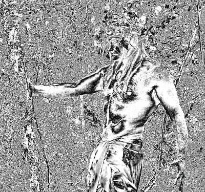 Oberon Horned One Art Print by Oberon   Ahura Star
