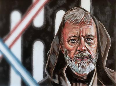 Obi-wan Kenobi's Last Stand Art Print