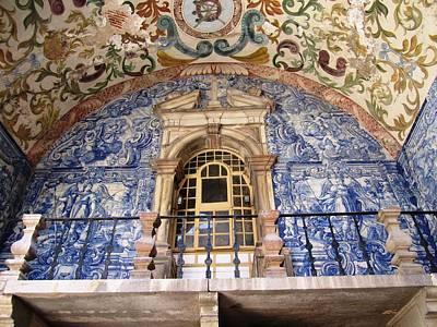 Photograph - Obidos Ancient Art Portugal by John Shiron