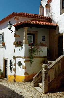 Photograph - Obidos House by Sally Weigand