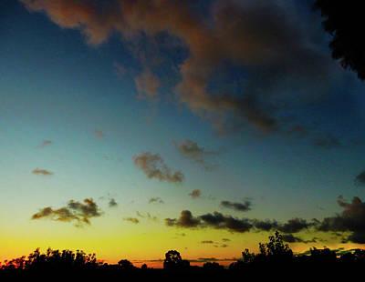 Photograph - Oblique Sunset by Mark Blauhoefer