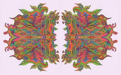 Drawing - Ob-noxious by Julia Woodman