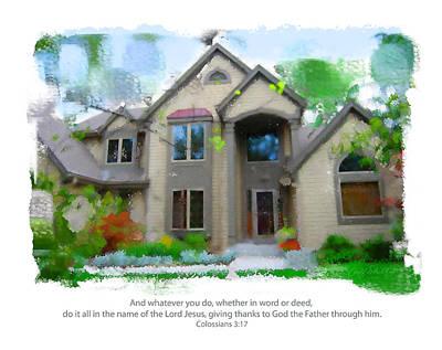 Obrien Home 2 Art Print