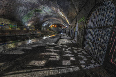 Water Tunnel Photograph - Obscure Shadows by Chris Fletcher