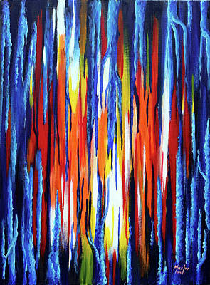 Painting - Obscured Lights by Michael Ivy