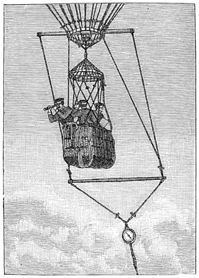 Observation Gondola Art Print by Granger