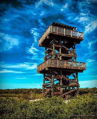 Photograph - Observation Tower At Robinson Preserve by Richard Goldman