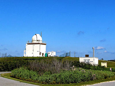 Photograph - Observatory At The Canaveral National Seashore   by Chris Mercer