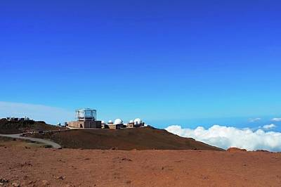 Photograph - Observatory Atop Haleakala by Kirsten Giving