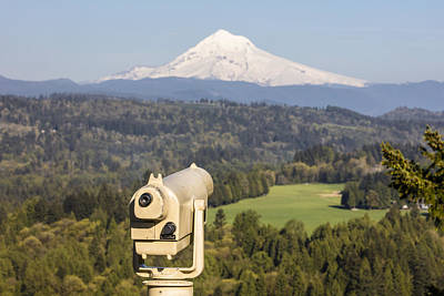 Photograph - Observe Mt Hood by John McGraw