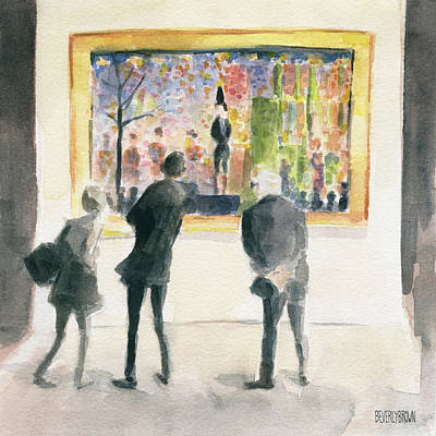 Painting - Observing Seurat by Beverly Brown