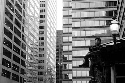 Photograph - Observing The City by Valentino Visentini