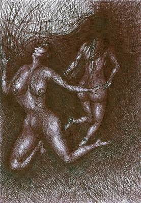 Creativity Drawing - Obsession by Wojtek Kowalski