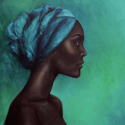 Painting - Obsidian by Nicole Daniah Sidonie