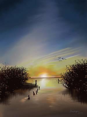 Digital Art - OBX by Gerry Morgan