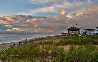 Photograph - Obx Sunrise 2016 by Barbara Ann Bell