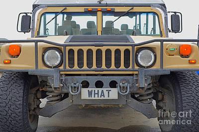 All Wheel Drive Photograph - What Hummer by Jason Freedman