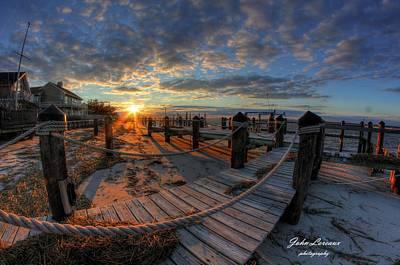 Photograph - Oc Bay Sunset by John Loreaux
